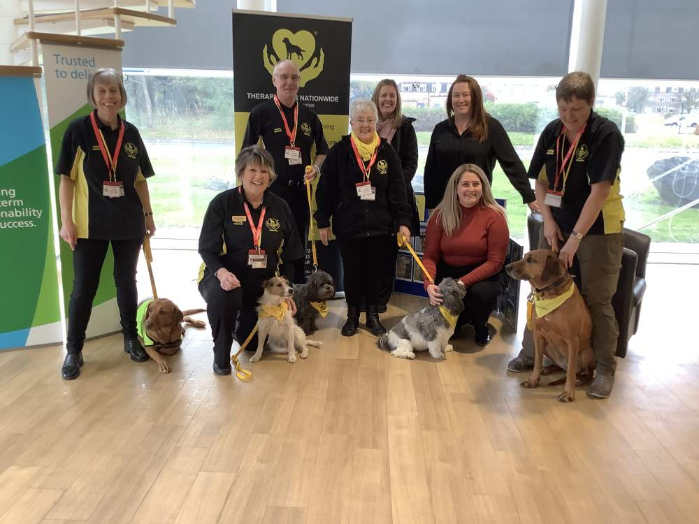 Paws for thought at Urenco Capenhurst during Health and Wellbeing Month